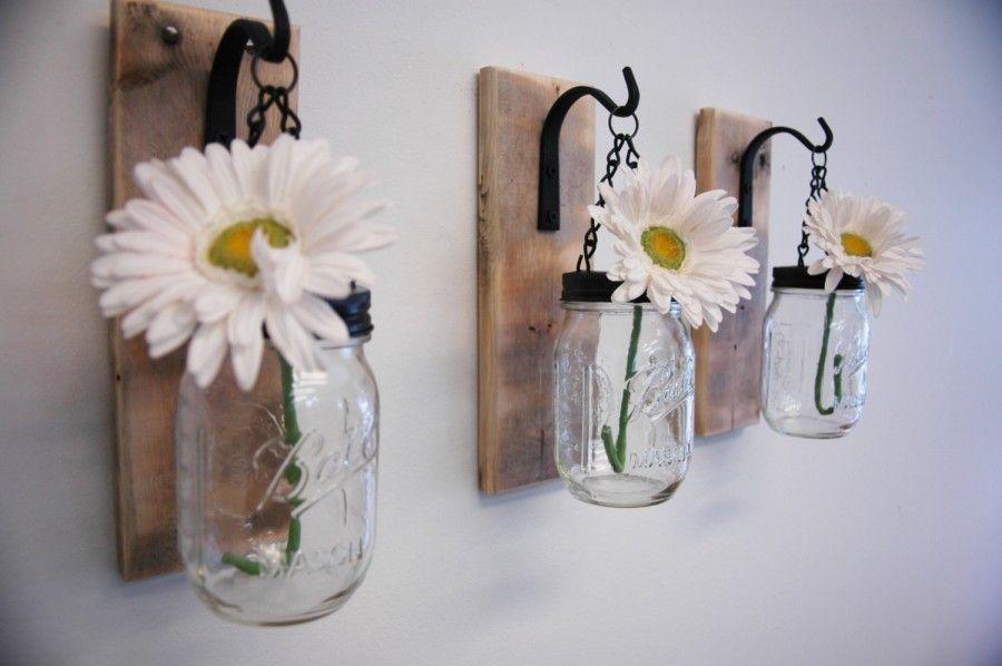 Idee creative per riciclare barattoli e bottiglie bigodino - Damigiane decorate ...