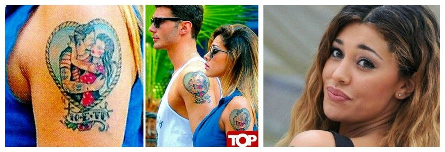 Il tatuaggio di Belen Rodriguez sulla spalla sinistra