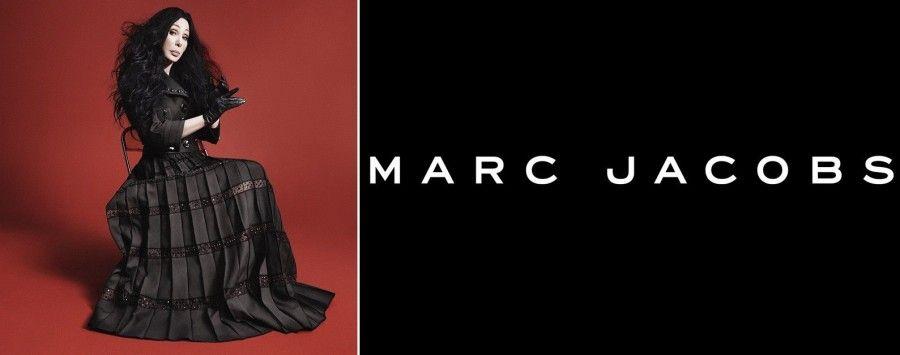 Cher nel primo scatto per Marc Jacobs