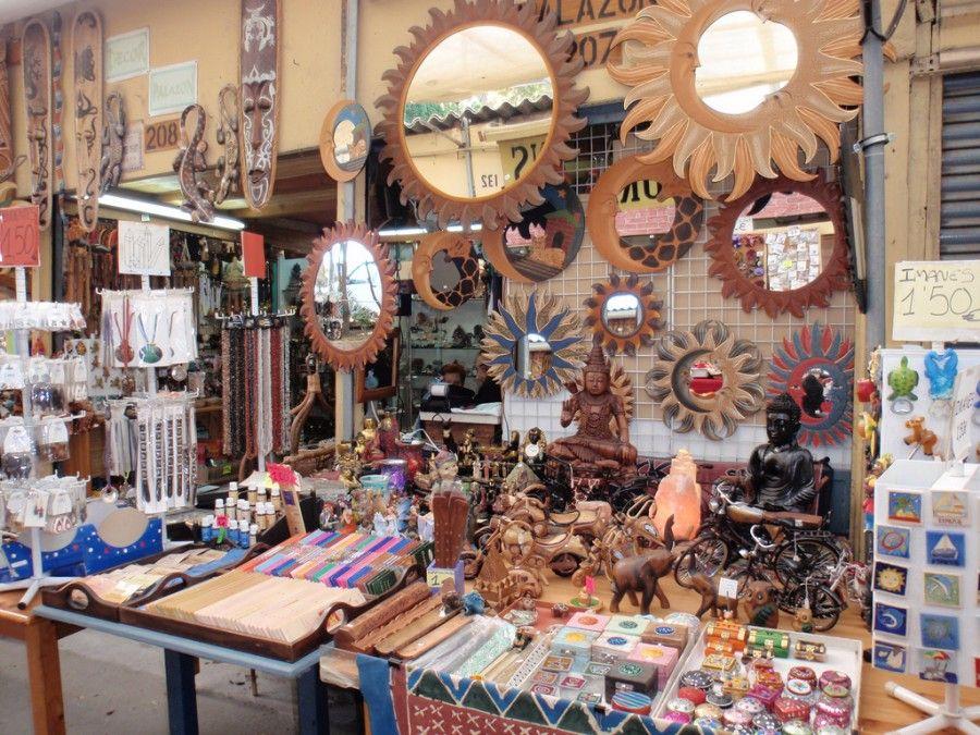 encants-vells-market-mirrors-stall