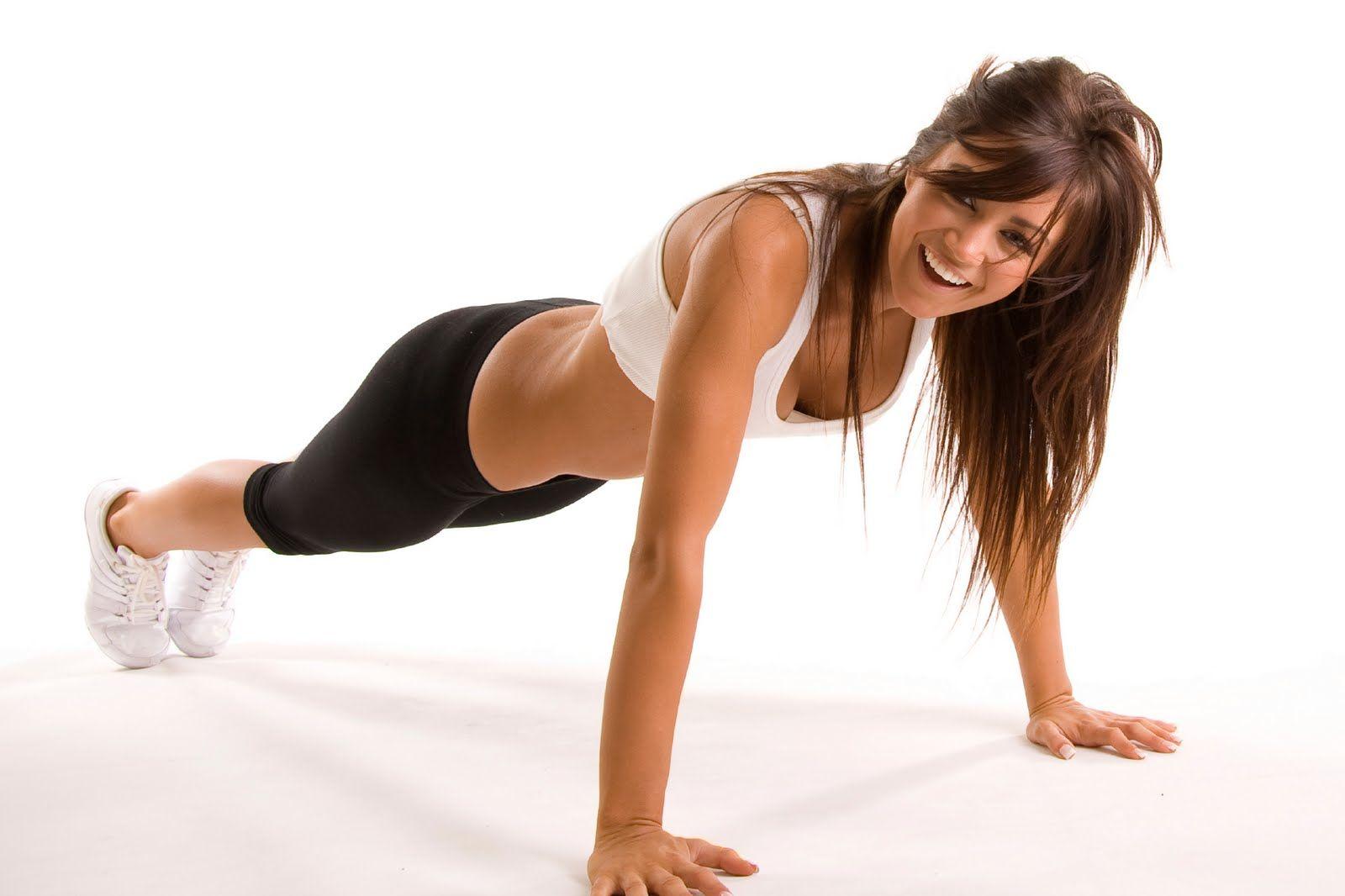 donna che fa un esercizio per prevenire il diabete