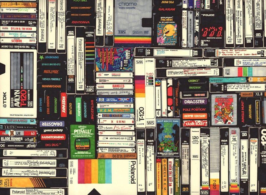 Cassette, VHS, Atari