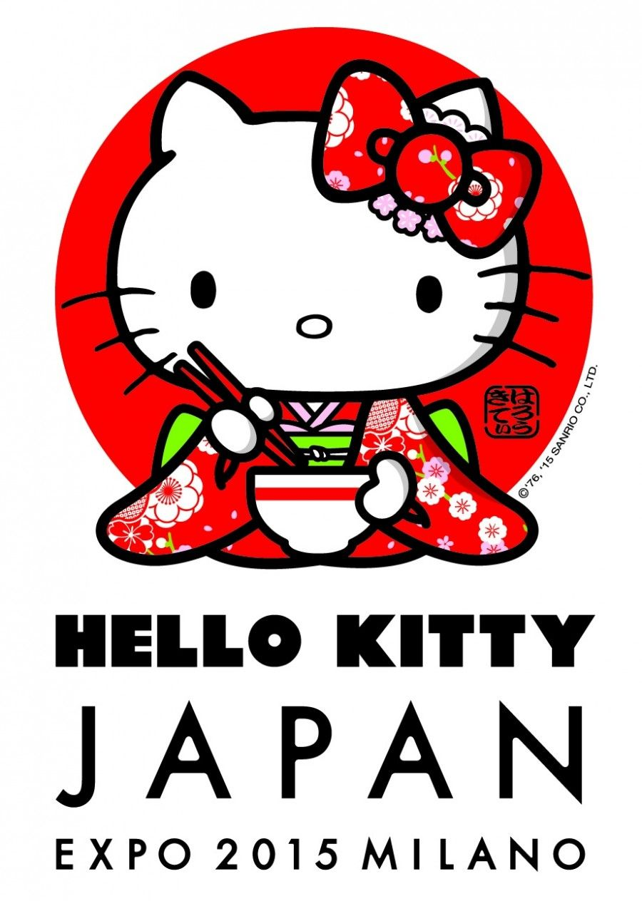 Hello Kitty ambasciatrice di Expo 2015
