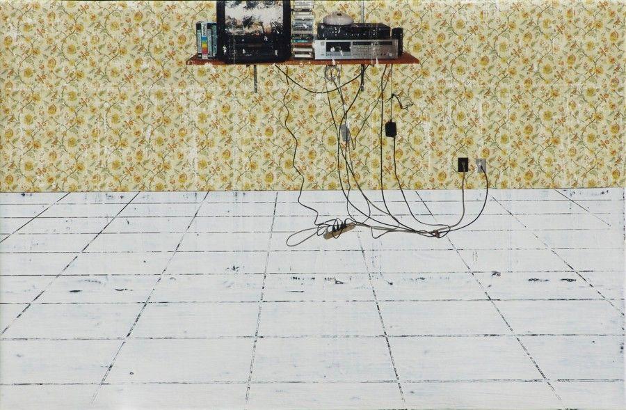 TV room (Entry Hall Wallpaper)