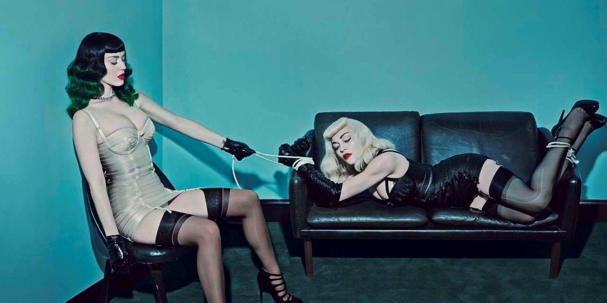 Katy Perry e Madonna