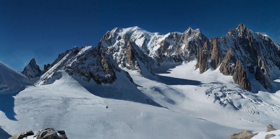 Fotografia più grande del mondo: il Monte Bianco