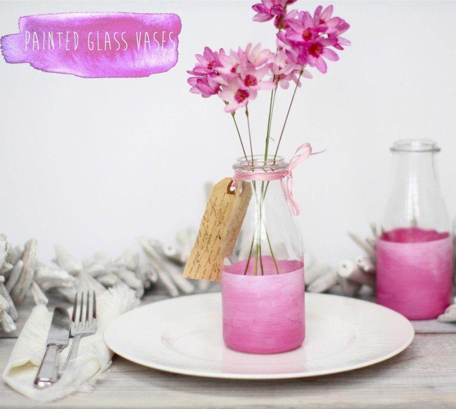 painted-glass-bottle-vases