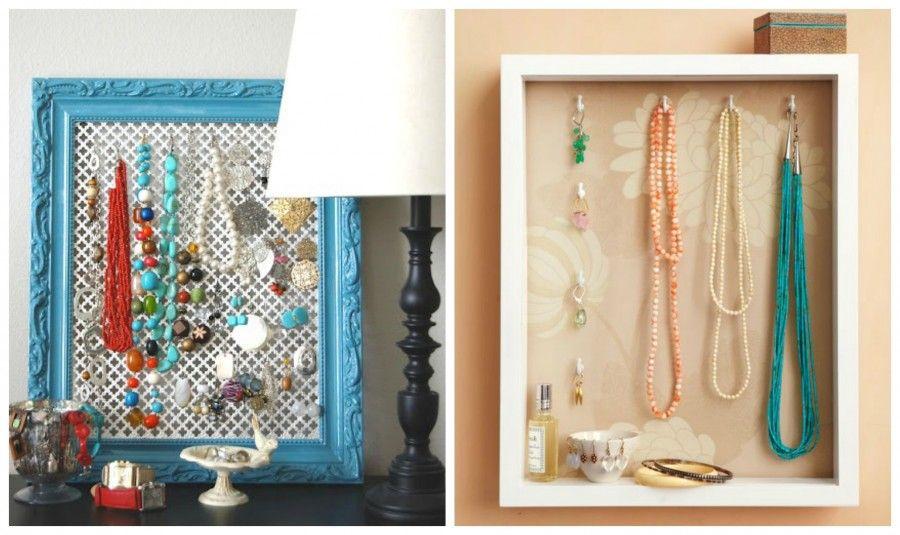 Portaorecchini fai da te idee per la casa - Porta gioielli ikea ...