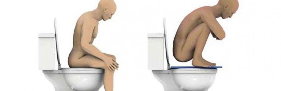 La posizione giusta per il bagno