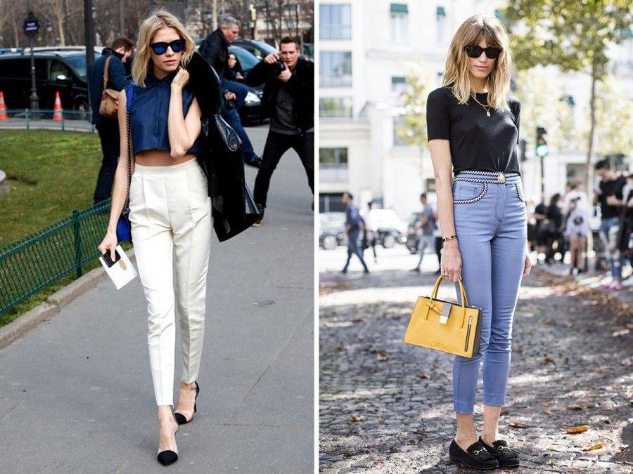 pantaloni alla caviglia modelli