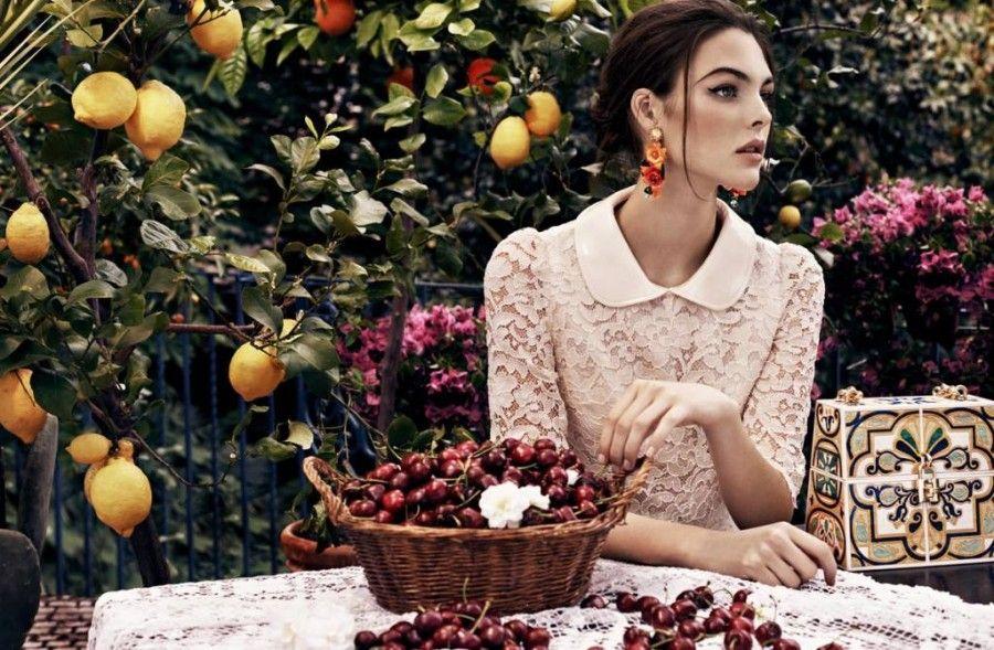 Vittoria Ceretti per Dolce&Gabbana