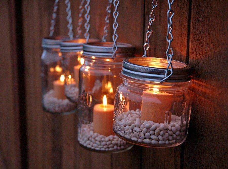 Lanterne Da Giardino Fai Da Te : Luci fai da te per giardino fai da te le lanterne edera e luce