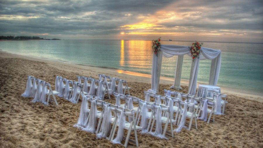 Creative Beach Wedding Wallpapers