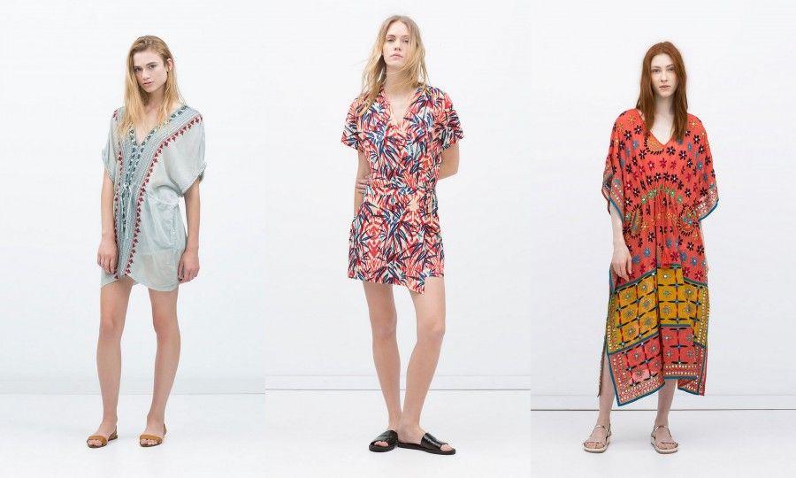 Zara cavalca l'onda dell'estate Boho Chic e propone abitini leggeri e coloratissimi