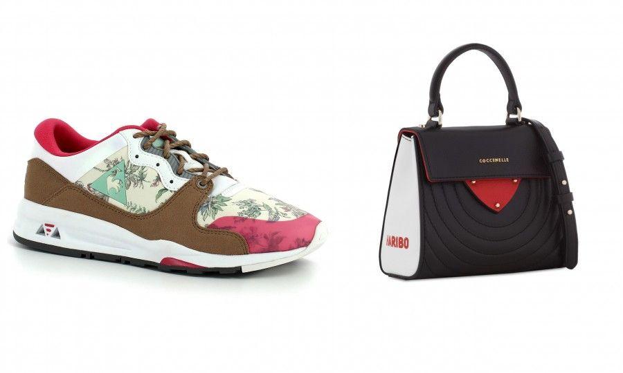"""Desktop1Sneakers colorate, leggerissime e molto femminili di Le Coq Sporti e mini  """"Rotella"""" Bag a tracolla di Coccinelle realizzata in collaborazione con Haribo"""