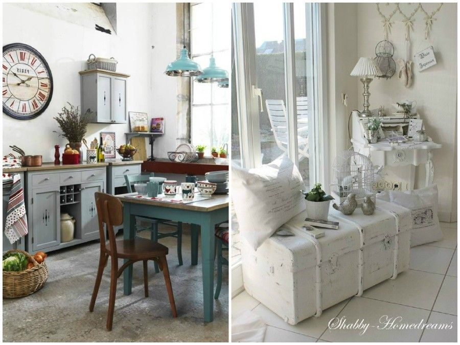 Shabby chic cucine finest cucina shabby chic in stile provenzale romantico n with shabby chic - Porte shabby chic ...