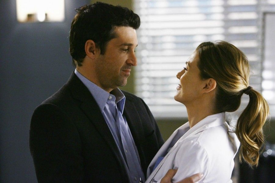 Season 5 Episode 23: Now or Never Grey's Anatomy - Ne me quitte pas - Patrick Dempsey - Ellen Pompeo  EPP / Reporters