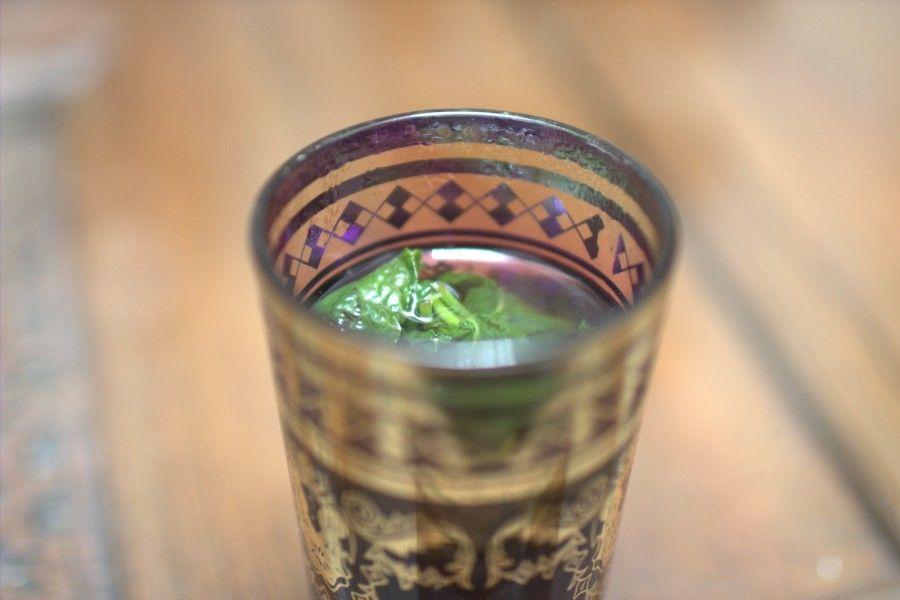 Un tè marocchino all'Hammam