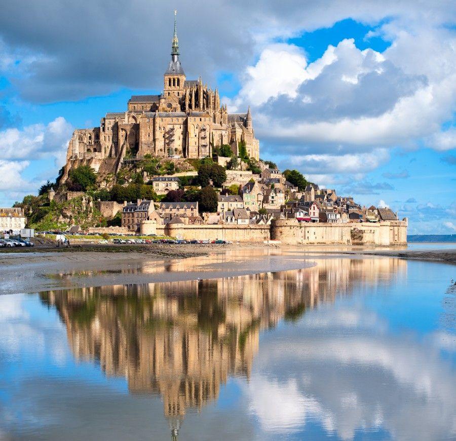 Mont-Saint-Michele-France