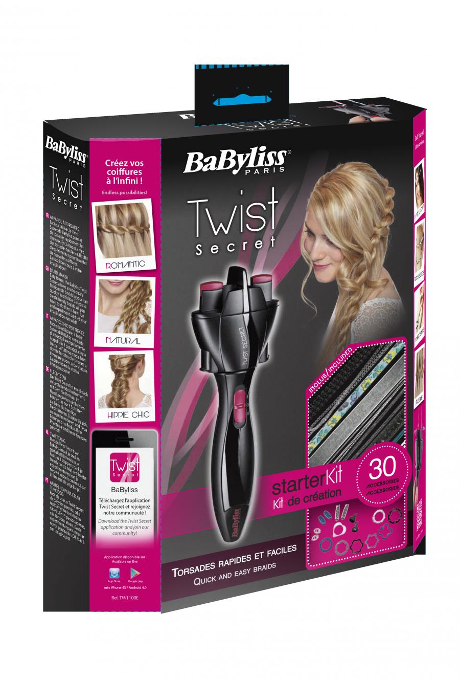 Twist Secret di Babyliss: un accessorio divertente e utile per creare acconciature molto particolari in pochi secondi