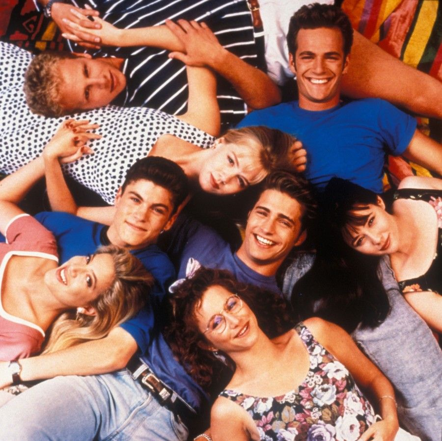 Il cast di Beverly Hills 90210