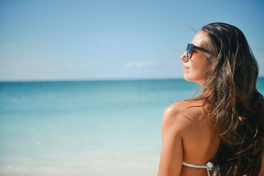 Al mare protette dal bikini