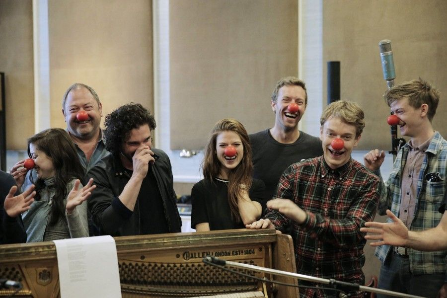 coldplay red nose day