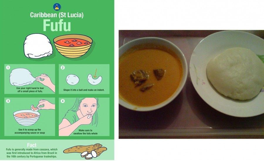 Come si mangia il fufu