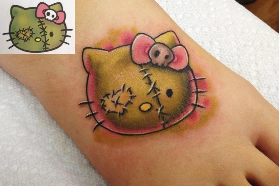 hello-kitty-tatuaggio-frankestein
