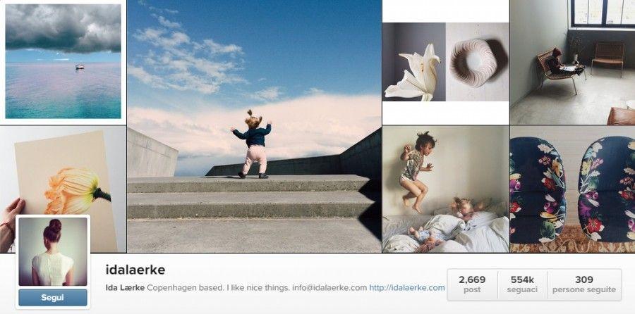 Profilo Instagram di Ida Laerke