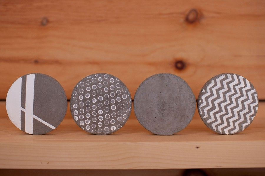 come creare oggetti d 39 arredo fai da te con il cemento bigodino. Black Bedroom Furniture Sets. Home Design Ideas