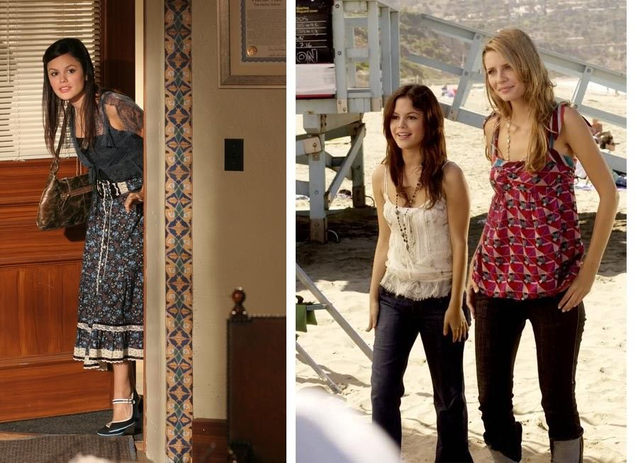 """THE O.C.- Summer (Rachel Bilson) tries to negotiate with the new dean on THE O.C. episode """"The Last Waltz"""" airing Thursday, Sept. 29 (8:00-9:00 PM ET/PT) on FOX.1556"""
