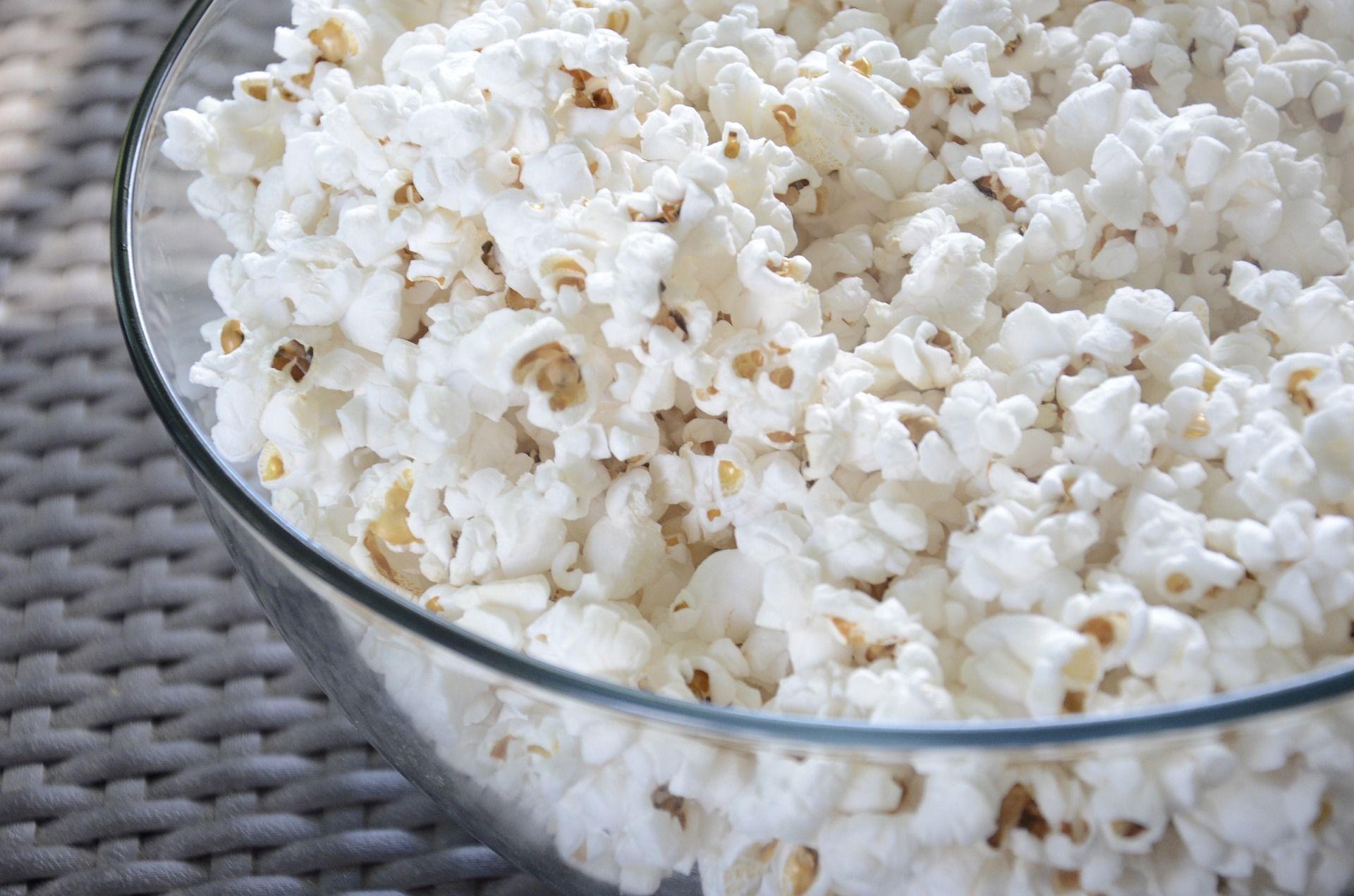 I 5 benefici dei pop corn
