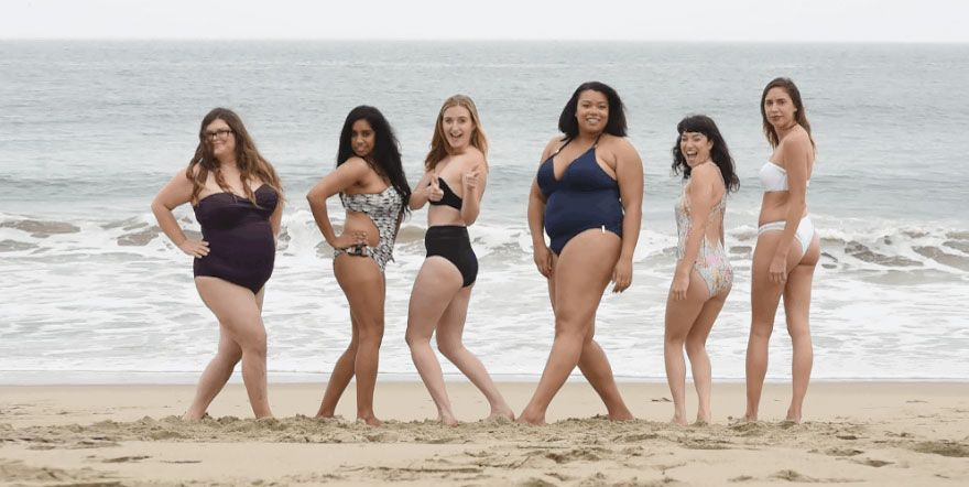 Come appaiono i costumi di Victoria's Secret sulle donne comuni