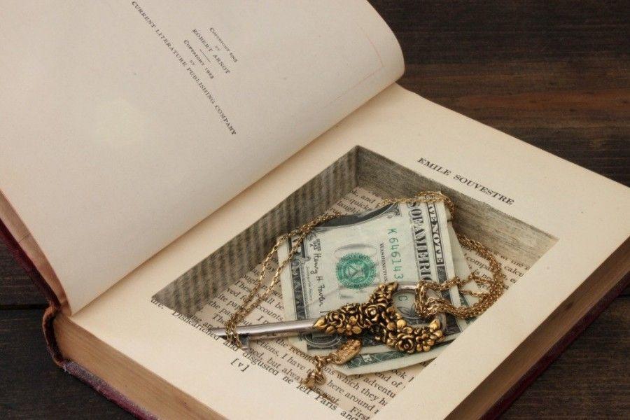 Come trasformare vecchi libri in complementi d 39 arredo for How to reuse old books