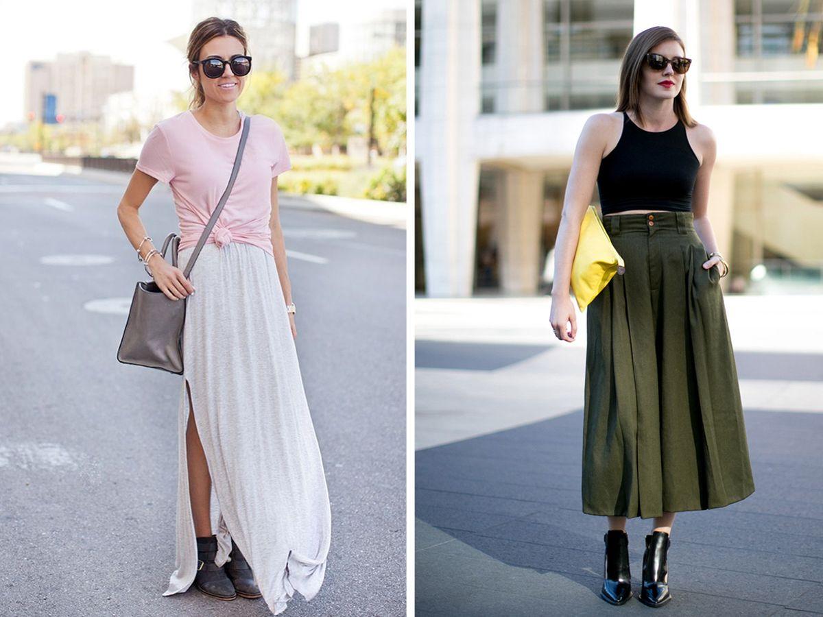 Clip butterfly bag Sidewalk  Come indossare una gonna lunga - Bigodino
