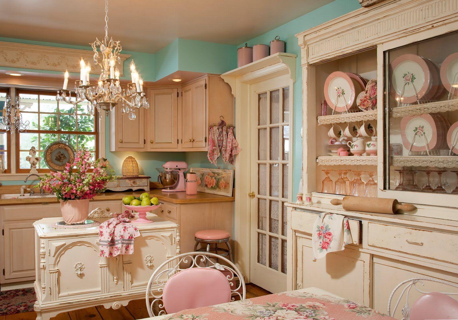 Shabby Chic: 7 consigli da seguire per trasformare la tua cucina