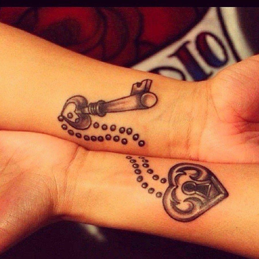 tatuaggi-di-coppia-chiave
