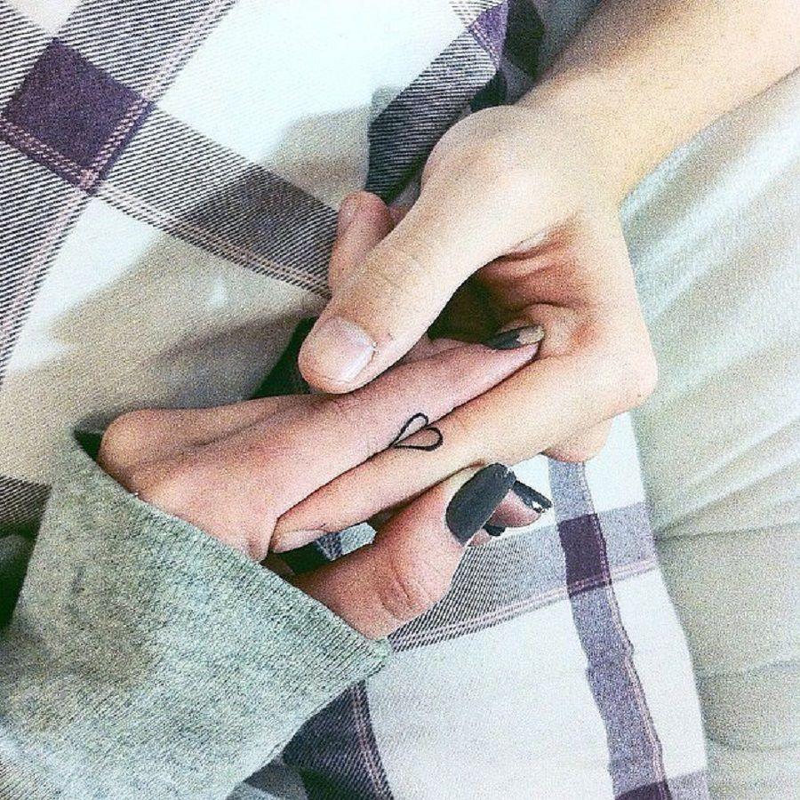 tatuaggi-di-coppia-cuore