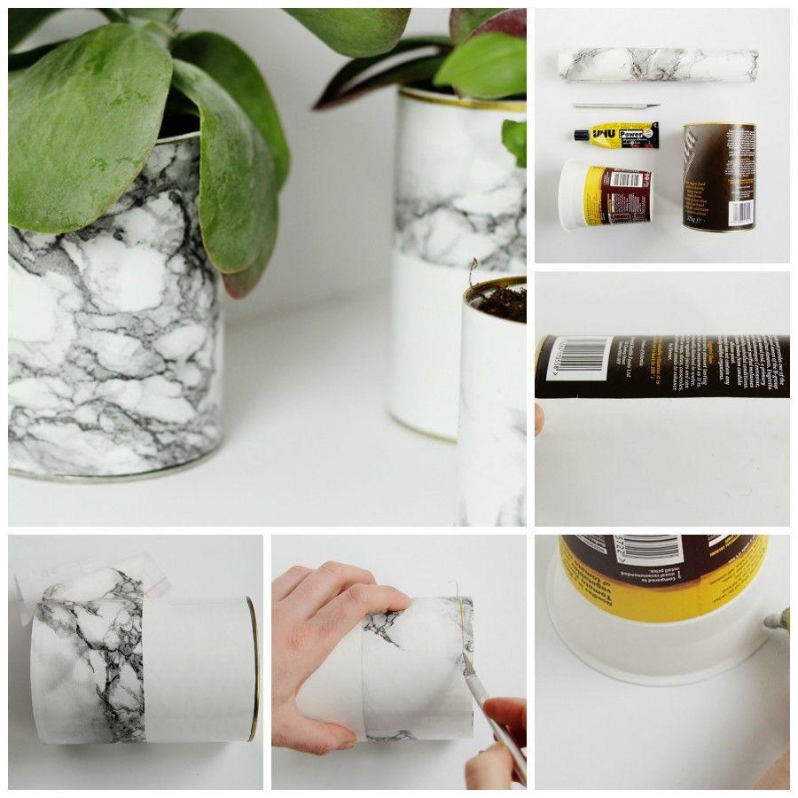 vasi diy collage