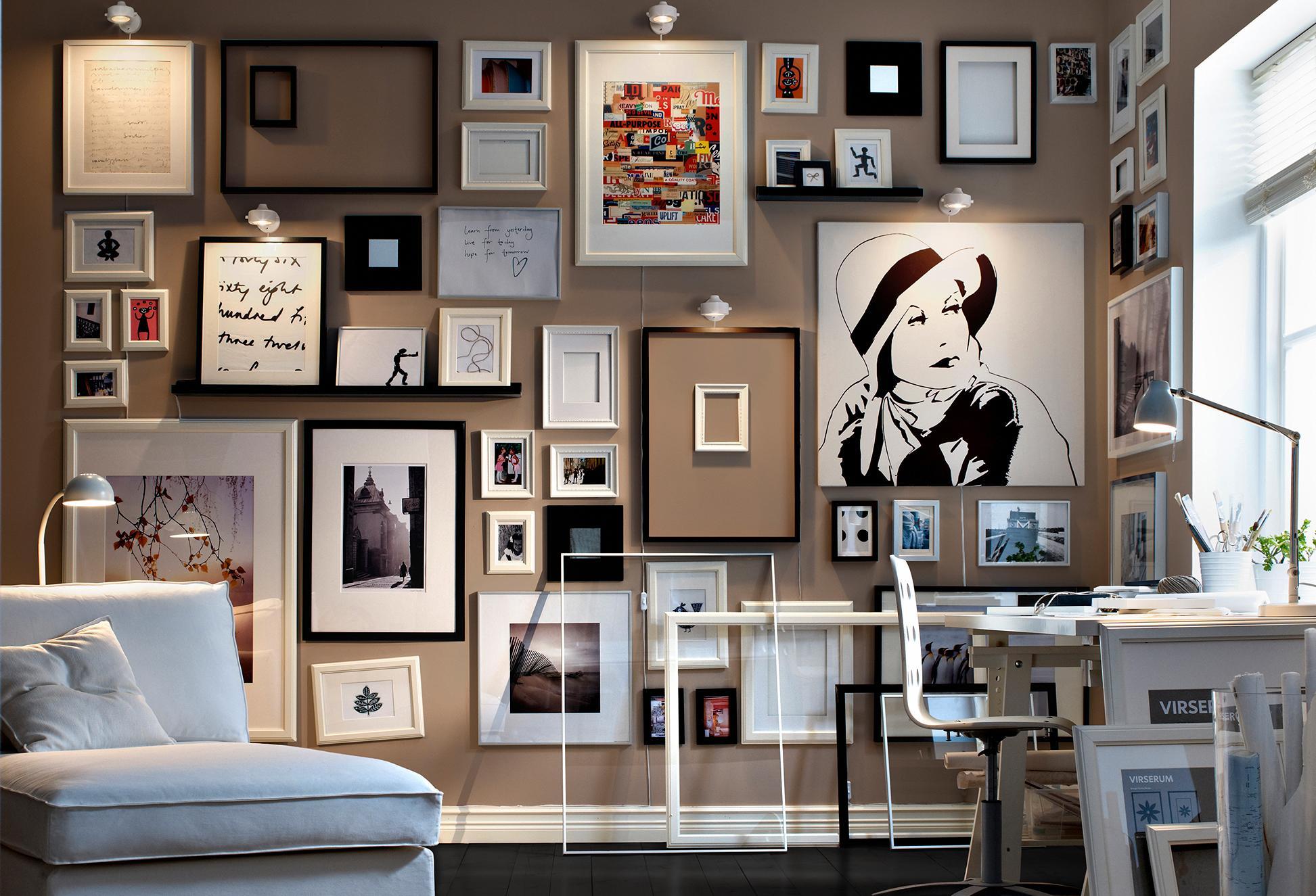 4 regole da seguire per appendere le nostre foto alle pareti di casa