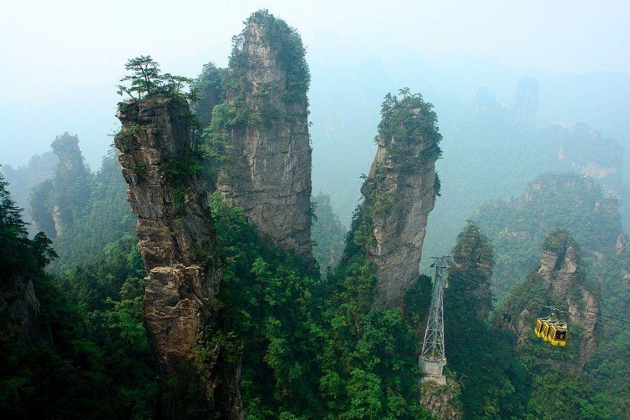 03Tianzi Mountains