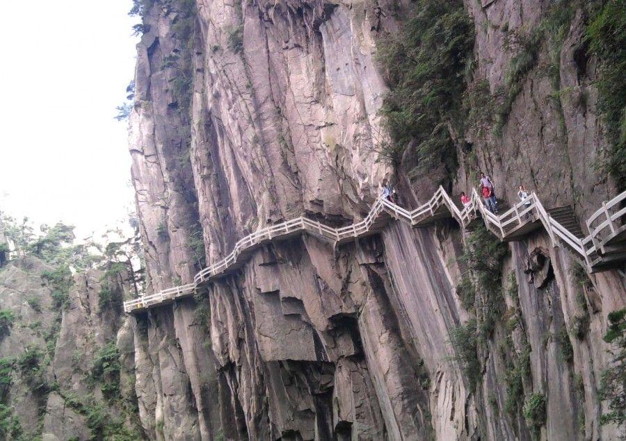 09The Road to Heaven, Huashan Mountain
