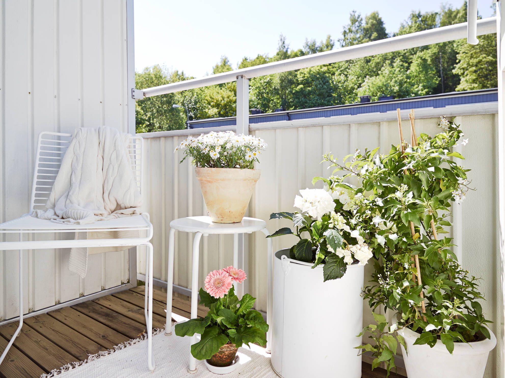 5 stili per arredare il tuo balcone