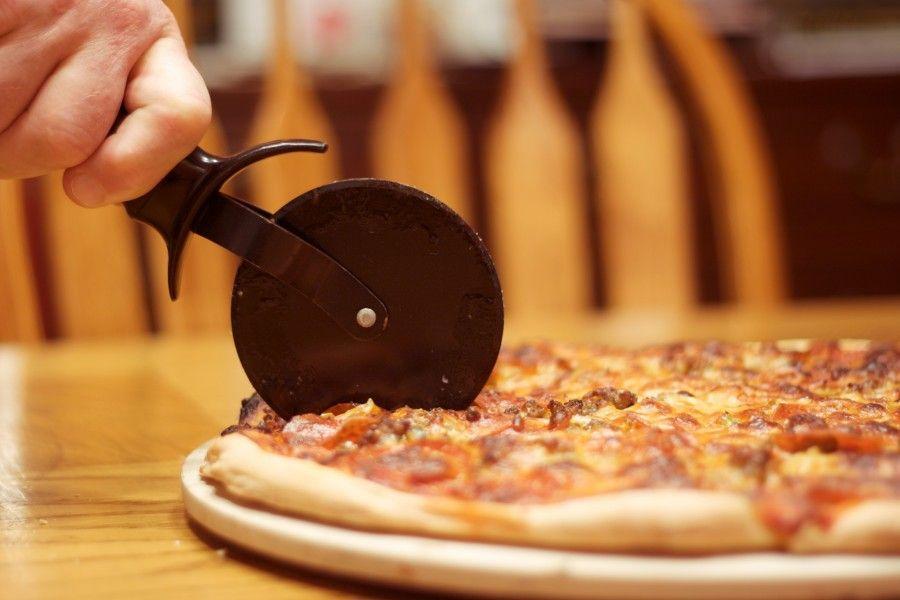 Come si taglia una pizza