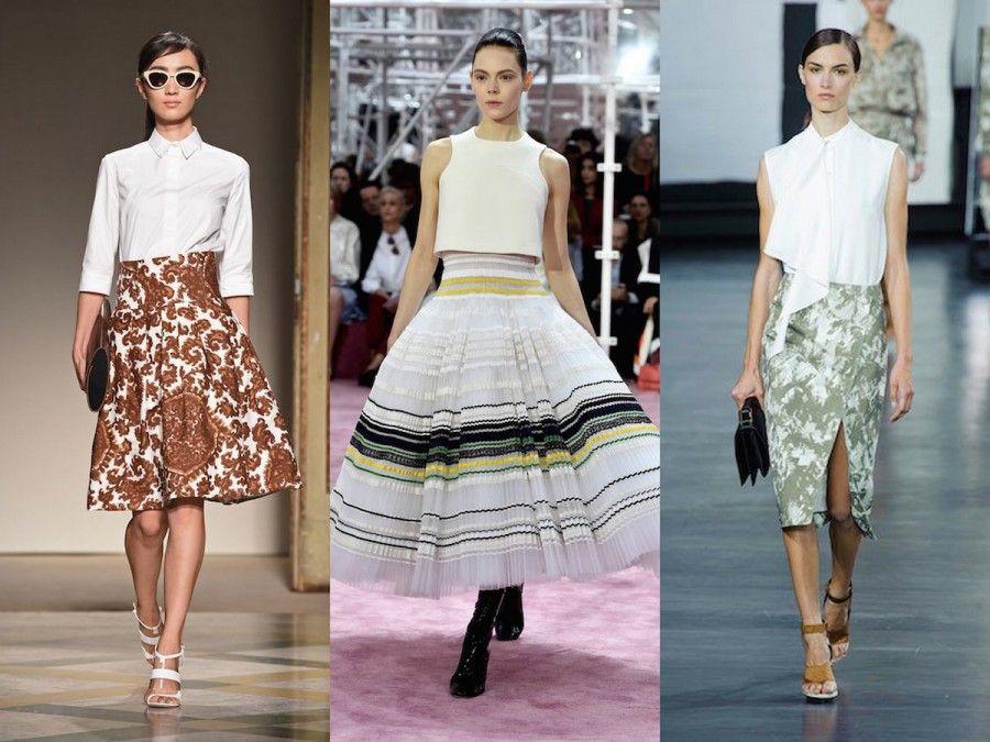Una camicia bianca è sempre un'ottima opzione, ce lo insegna la Paris Fashion Week