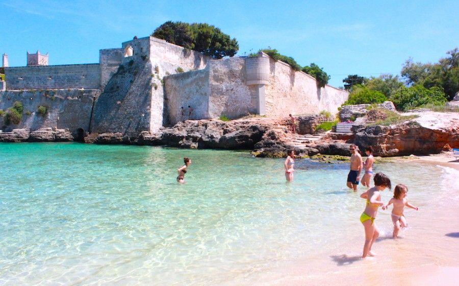 La spiaggia di Porto Ghiacciolo
