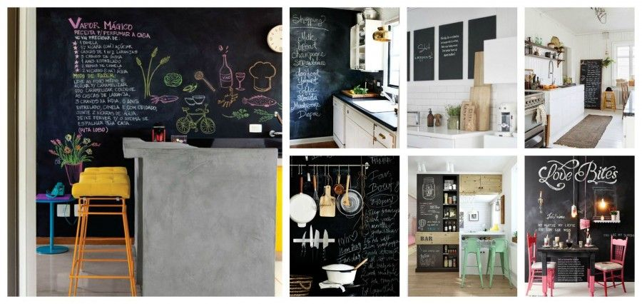 Come decorare le pareti con la vernice lavagna | Bigodino