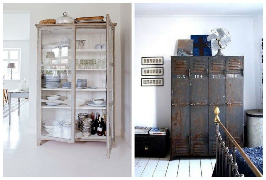 Vintage 8 oggetti per ordinare casa bigodino - La casa vintage ...