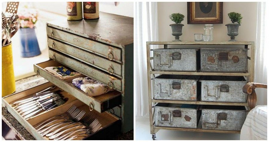 Vintage 8 oggetti per ordinare casa bigodino for Oggetti d arredo